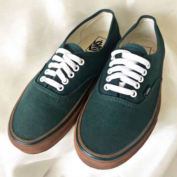 Vans Authentic Gumsole Verdant GreenMud Gum Ankle High